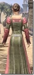 Bardic Tavern Singer's Dress Female Close Rear