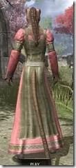 Bardic Tavern Singer's Dress Khajiit Female Rear