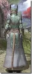 Divine Prosecution Light - Khajiit Female Robe Rear