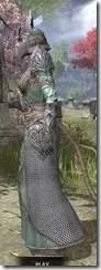 Divine Prosecution Light - Khajiit Female Robe Side