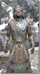 Fanged Worm Heavy - Argonian Male Close Front