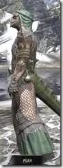 Fanged Worm Heavy - Argonian Male Side