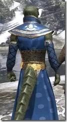 Jarl Justice's Formal Frock Argonian Male Close Rear