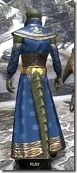 Jarl Justice's Formal Frock Argonian Male Rear