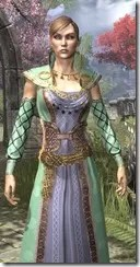 Jarl Justice's Formal Frock Dyed Close Front