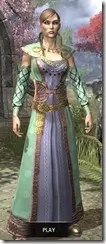 Jarl Justice's Formal Frock Dyed Front