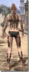Dwarven Centurion Body Tattoos Female Rear