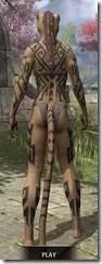 Dwarven Centurion Body Tattoos Khajiit Female Rear