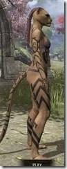 Dwarven Centurion Body Tattoos Khajiit Female Right