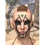 Dwarven Centurion Face Tattoos