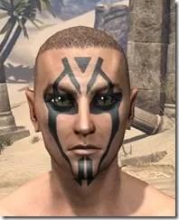 Dwarven Centurion Face Tattoos Male Front