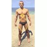 Meridian Sunburst Body Tattoos