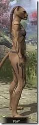 Meridian War Burst Body Markings Khajiit Female Right