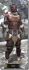 Anequina Heavy - Argonian Male Front
