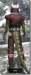 Jode & Jone Light - Argonian Male Shirt Rear
