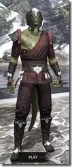 Jode & Jone Medium - Argonian Male Front