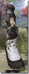 Pellitine Light - Khajiit Female Robe Side