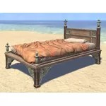 Elsweyr Bed, Rumpled Quilted Single