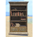 Elsweyr Bookshelf, Wooden Full