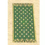 Elsweyr Carpet, Gold-Emerald