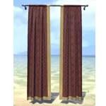 Elsweyr Curtains, Flat Panel Maroon