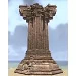 Elsweyr Monument, Ancient Stone Broken