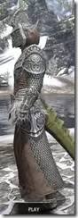 Meridian Homespun - Argonian Male Robe Side
