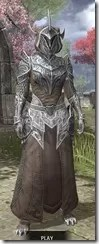 Meridian Homespun - Khajiit Female Robe Front