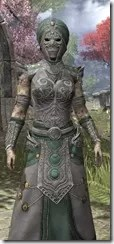 Pellitine Homespun - Khajiit Female Robe Close Front