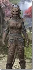Pellitine Iron - Khajiit Female Close Front