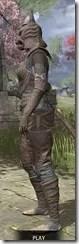 Pellitine Iron - Khajiit Female Side