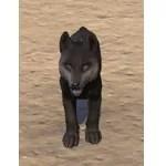 Elder Dragon Hunter Wolf Pup