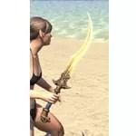 Baandari Pedlar Sword