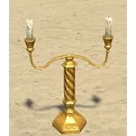 Love's Flame Candlestick