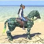 Gloomspore Horse