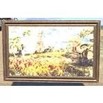 Elsweyr Vista Painting, Wood