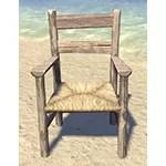 Solitude Armchair, Wicker