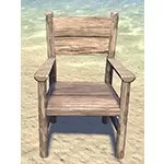 Solitude Armchair, Wood