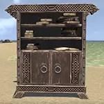Solitude Bookcase, Noble Cabinet Filled