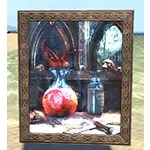 Still Life in Death Painting, Wood