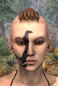 Forsaken Sacrifice Face Markings - Female Front