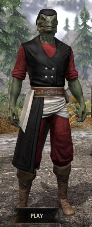 Innkeeper - Argonian Male Front