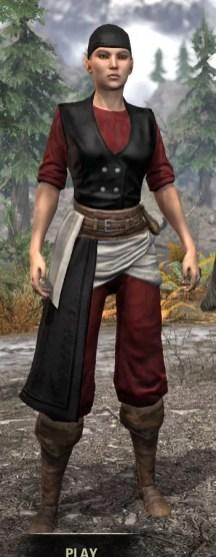 Innkeeper - Female Front