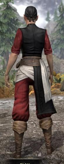 Innkeeper - Female Rear