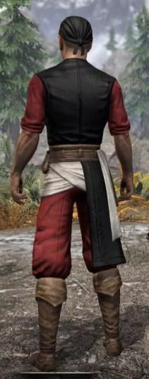 Innkeeper - Male Rear