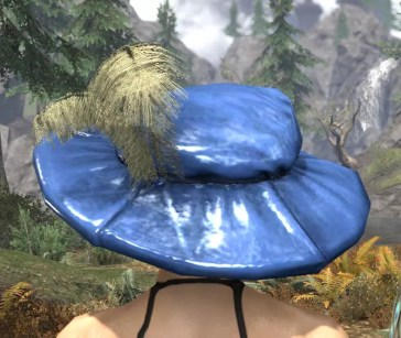 Spirited Soubrette Round Cap - Dyed Rear