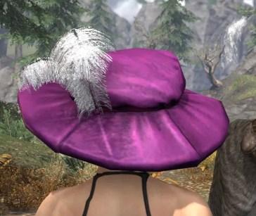 Spirited Soubrette Round Cap - Female Rear