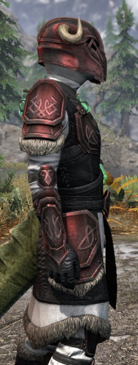 Hazardous Alchemy Heavy - Argonian Male Close Side