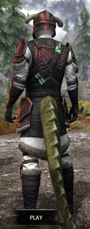 Hazardous Alchemy Heavy - Argonian Male Rear