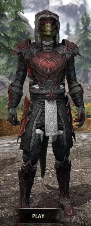 Thorn Legion Heavy - Argonian Male Front